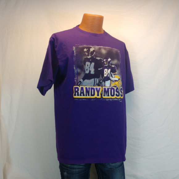 28f34c47 Randy Moss Minnesota Vikings T-Shirt